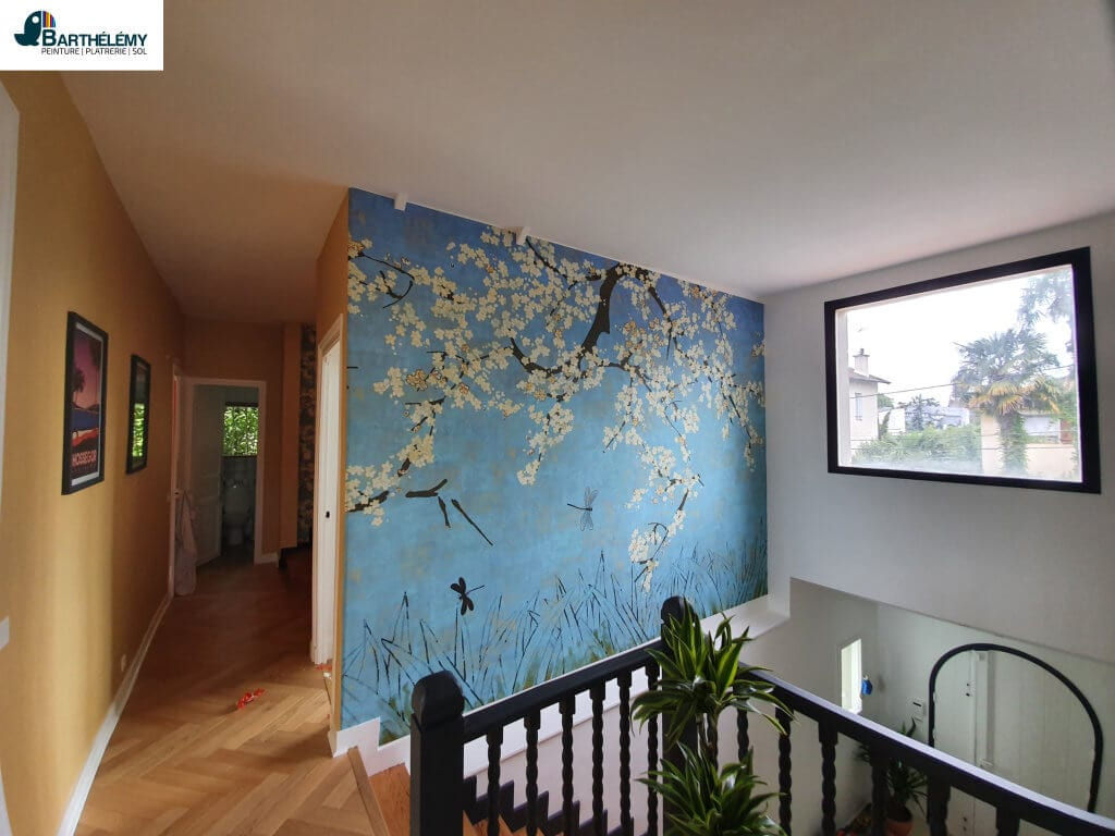 Quel est le rôle d'une peintre en bâtiment ?