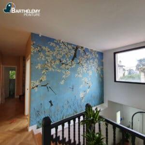 Travaux de peinture, plâtrerie et sol maison pau centre ville