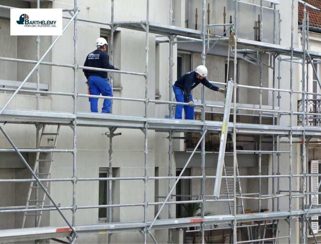Les étapes d'un chantier de ravalement de façade