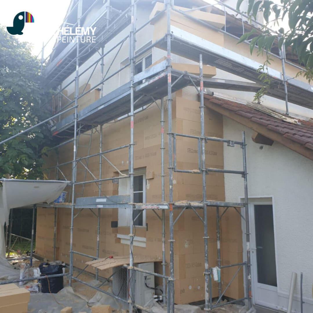 Travaux rénovation énergétique - Isolation thermique par l'extérieur ITE à Pau